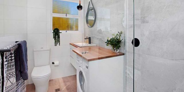 Balmain rental property bathroom
