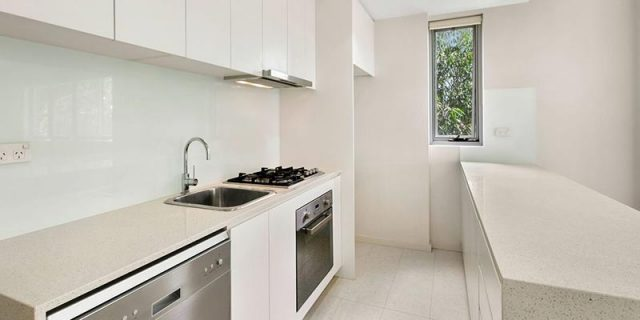 Turramurra Apartment Kitchen